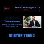 Vincenzo Sagone, Head of Etf di Amundi – intervista radio