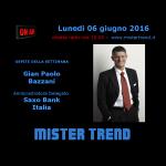 Gian Paolo Bazzani, amministratore delegato di Saxo Bank – intervista radio