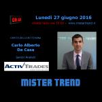 Brexit ne parliamo con Carlo Alberto De Casa – intervista radio