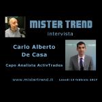 Mercato delle valute e delle commodity, analisi di Carlo Alberto De Casa
