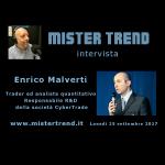 150° puntata di Mister Trend con ospite Enrico Malverti