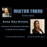 Trading Online Expo, approfondimenti con Anna Rita Birtolo
