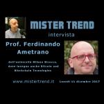 Cos'è il Bitcoin? Ce lo spiega il Prof. Ferdinando Ametrano
