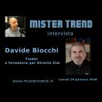 29 gennaio 2018 – ospite: Davide Biocchi trader e formatore di Directa sim