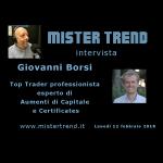 12 febbraio 2018 – ospite: Giovanni Borsi, Top Trader