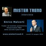 21 maggio 2018 – Fintech la finanza digitale – Ospite: Enrico Malverti