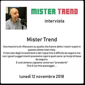 Mister Trend educazione finanziaria