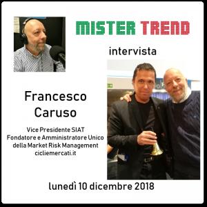 Come sarà il 2019? Francesco Caruso di Cicli&Mercati